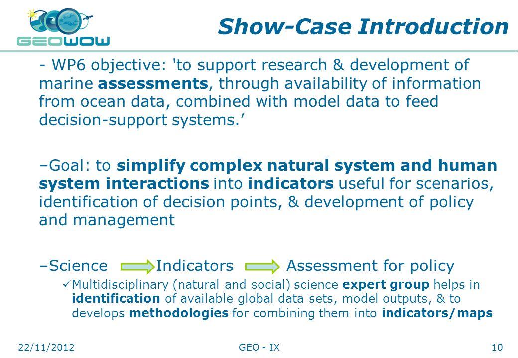 Show-Case Introduction