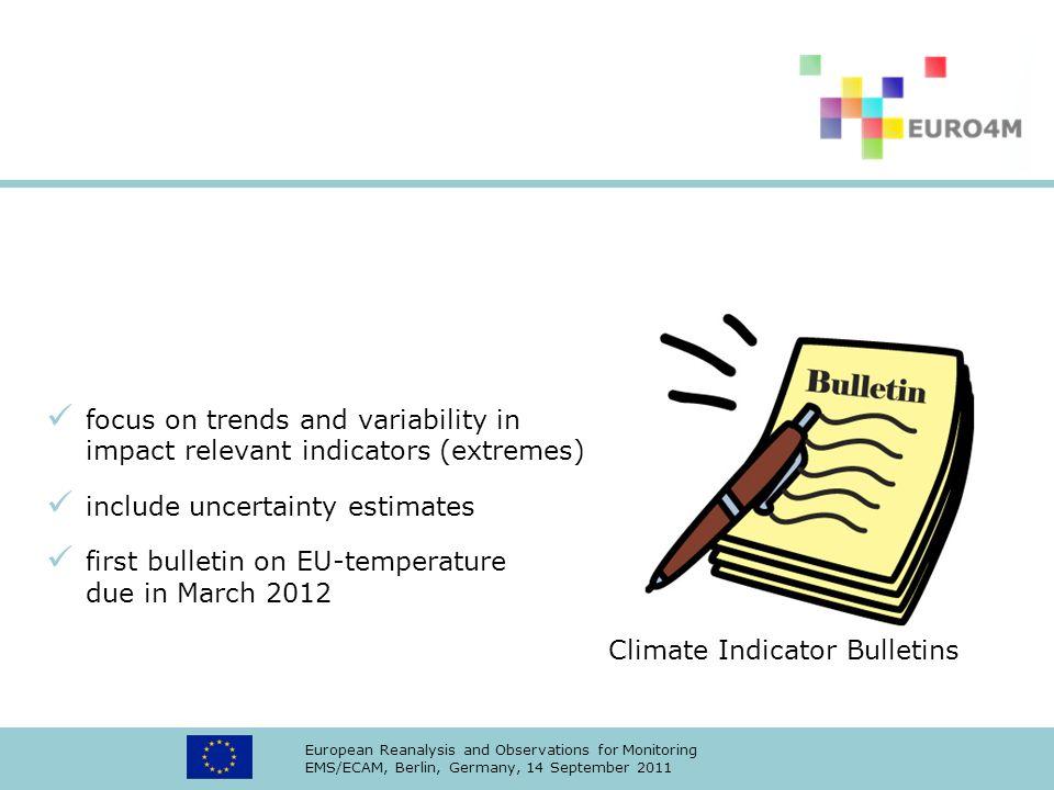 include uncertainty estimates