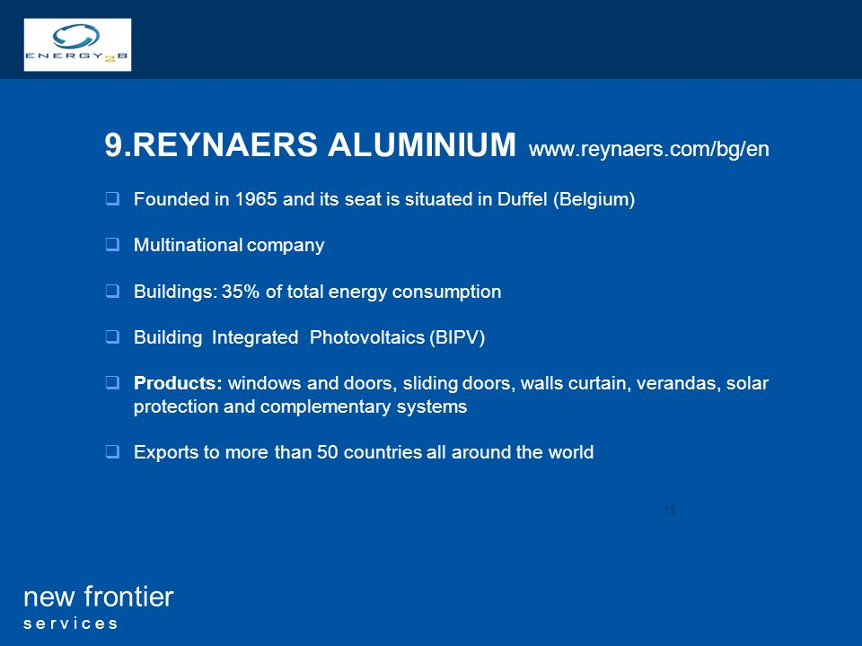 9.REYNAERS ALUMINIUM www.reynaers.com/bg/en