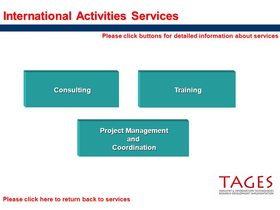International Activities Services