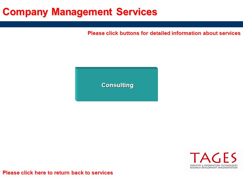 Company Management Services
