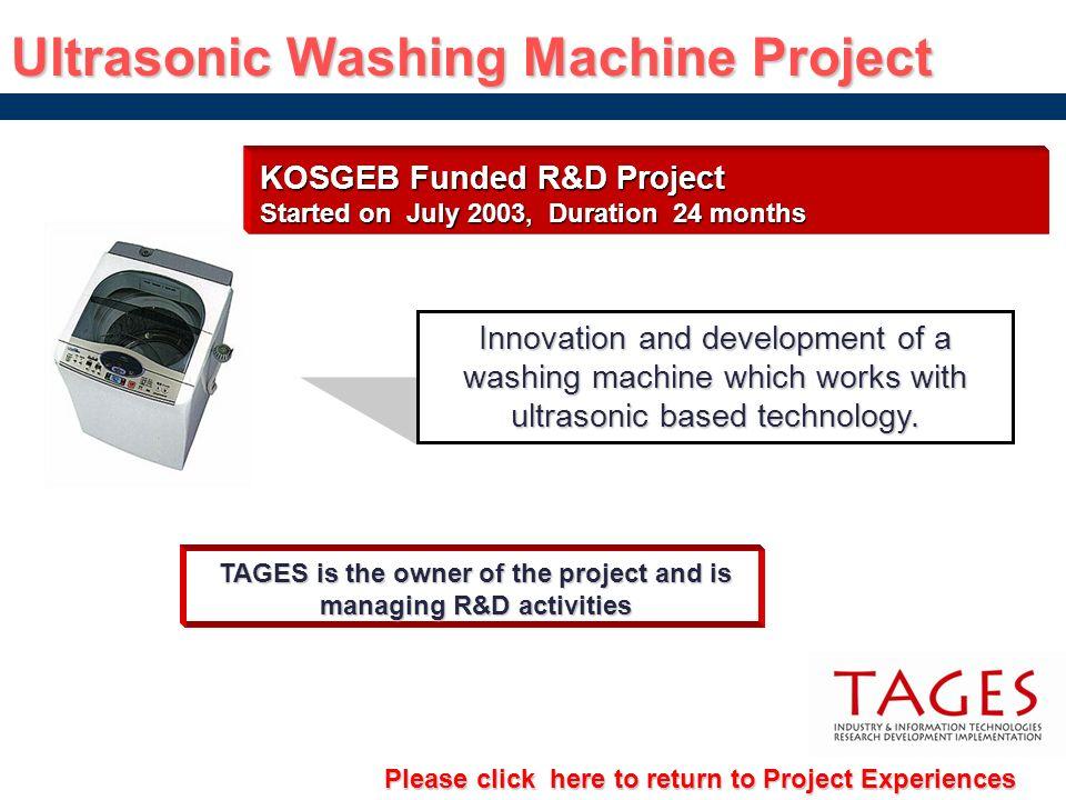 Ultrasonic Washing Machine Project