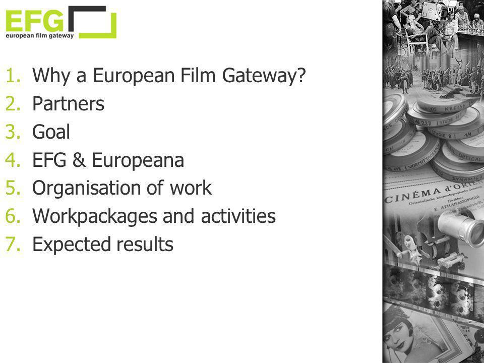 Why a European Film Gateway