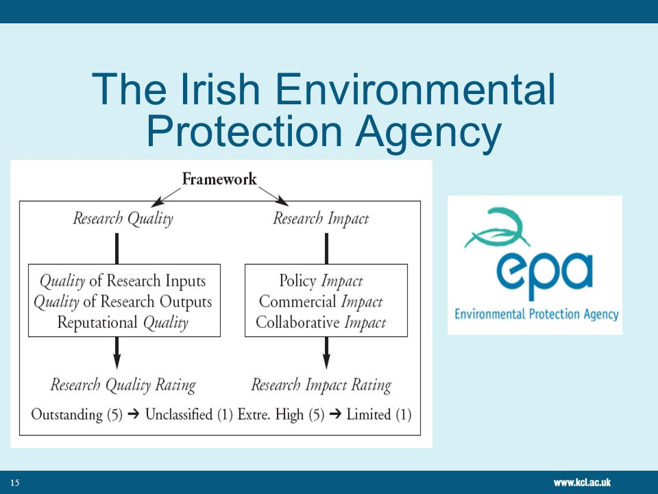 The Irish Environmental Protection Agency