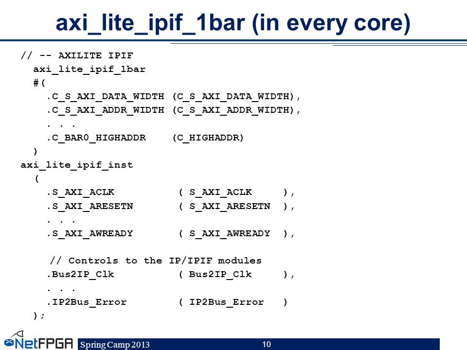 axi_lite_ipif_1bar (in every core)