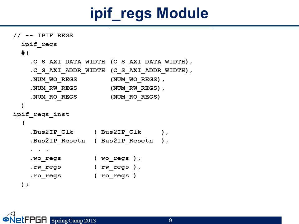 ipif_regs Module
