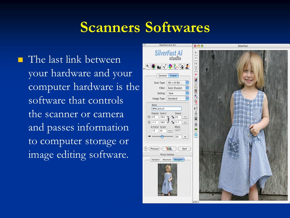 Scanners Softwares