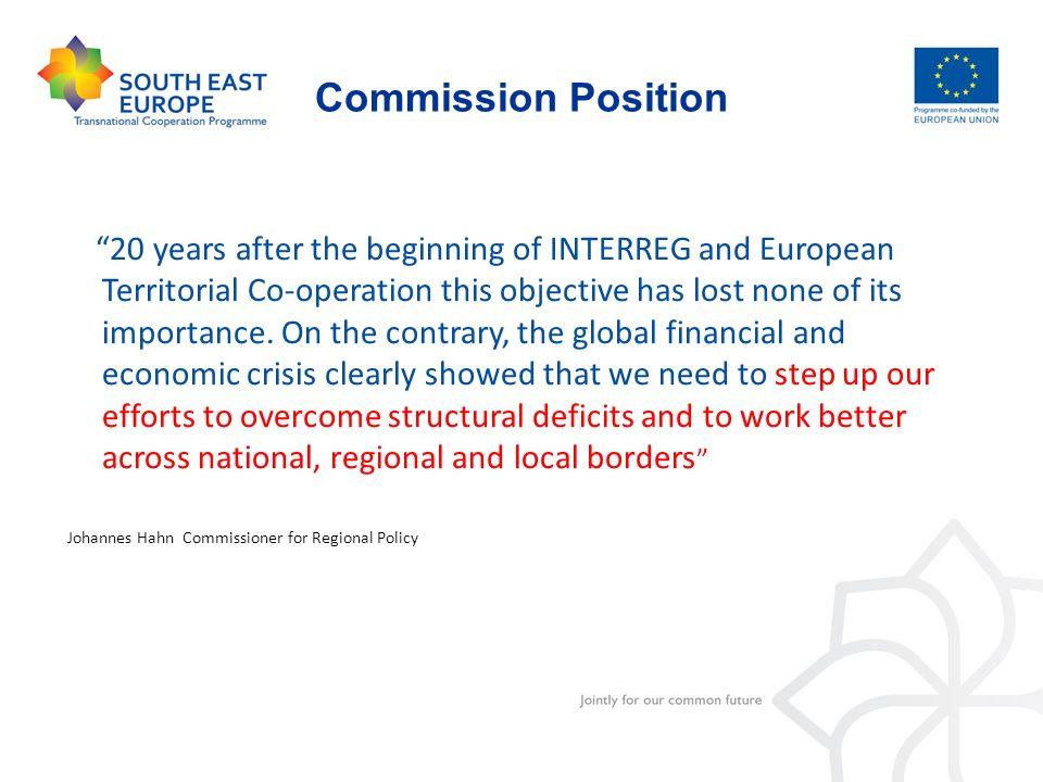Commission Position