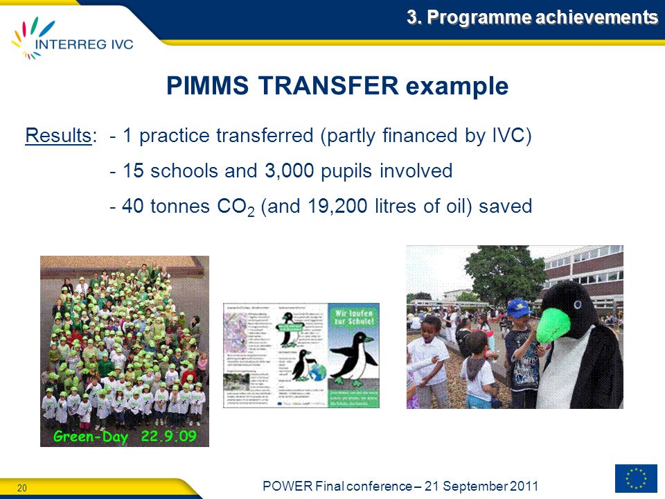 PIMMS TRANSFER example