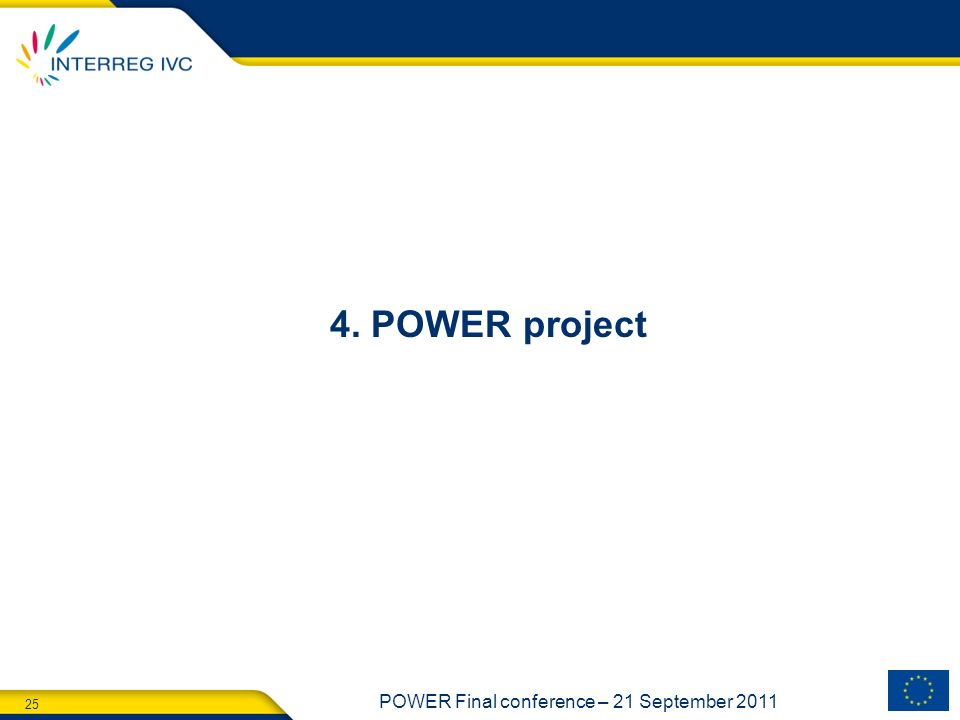 4. POWER project
