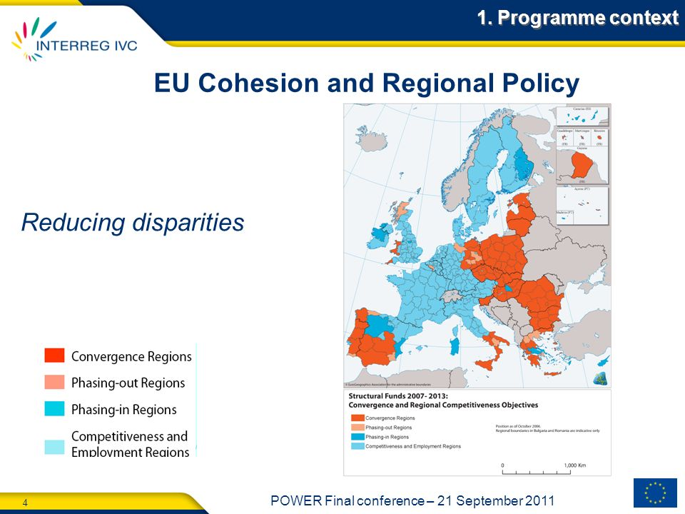 EU Cohesion and Regional Policy