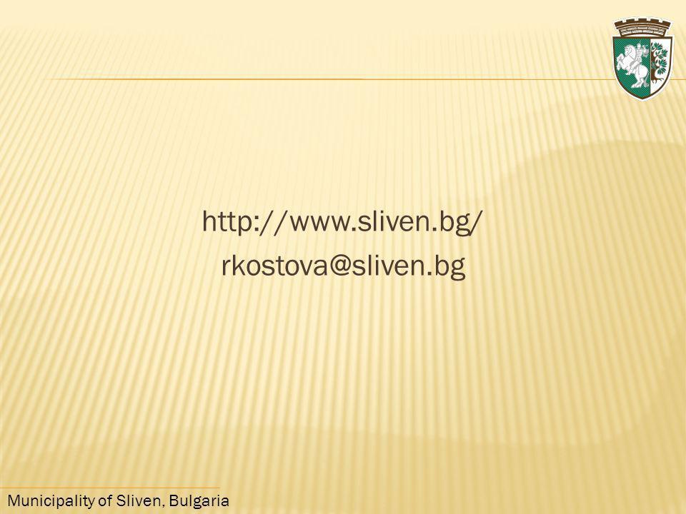 http://www.sliven.bg/ rkostova@sliven.bg