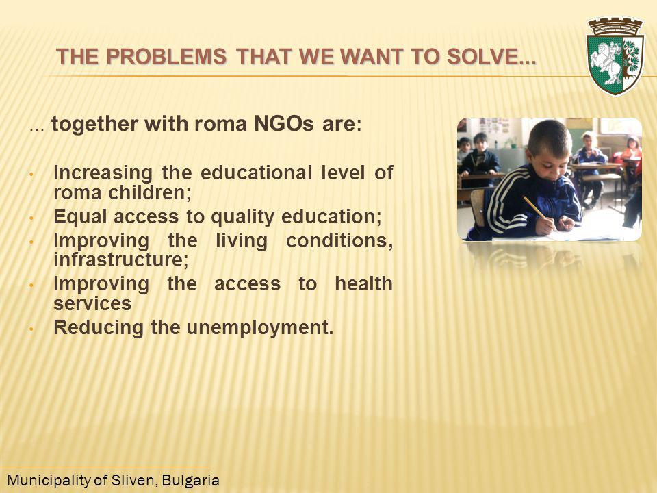 THE PROBLEMS THAT WE WANT TO SOLVE...