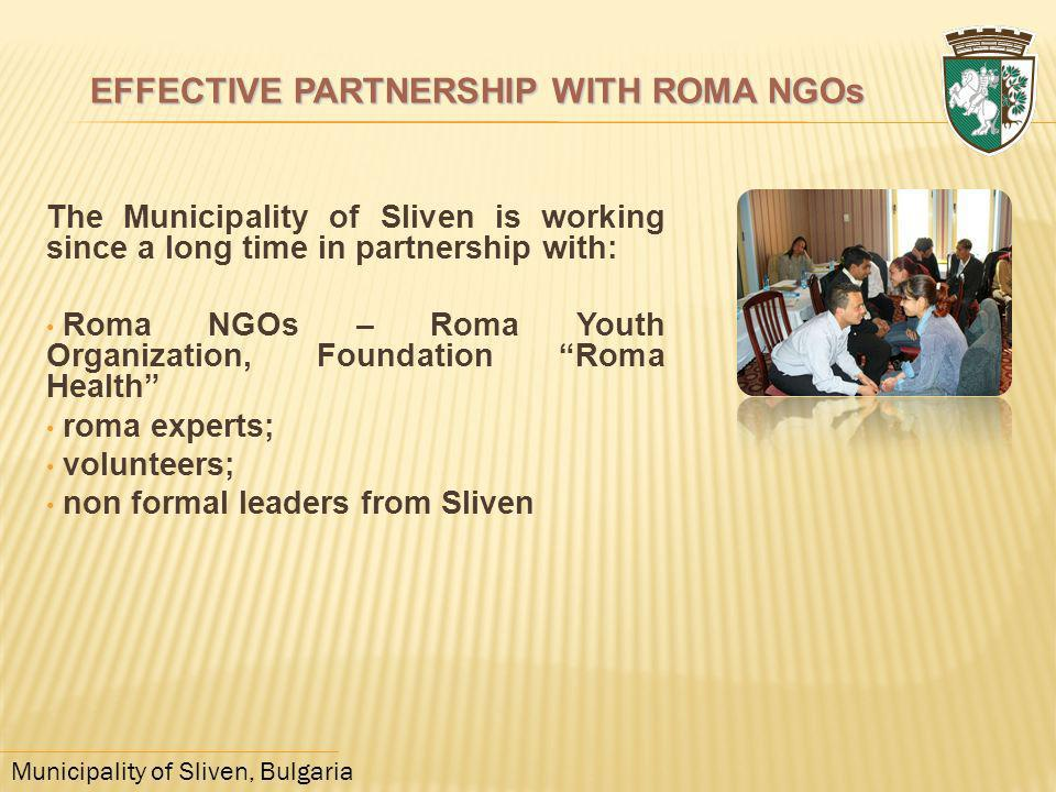 EFFECTIVE PARTNERSHIP WITH ROMA NGOs