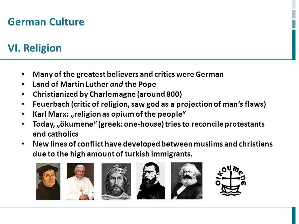 German Culture VI. Religion