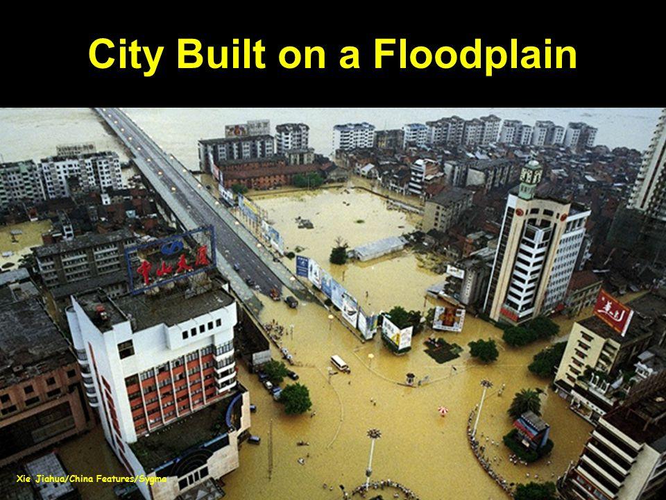 City Built on a Floodplain