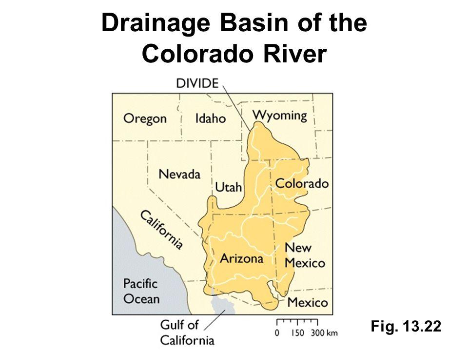Drainage Basin of the Colorado River