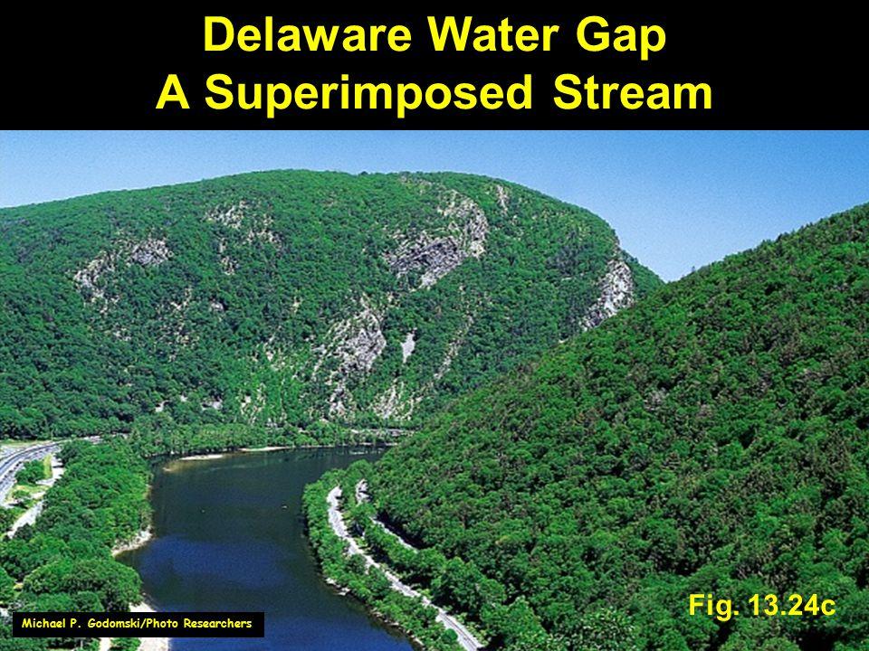 Delaware Water Gap A Superimposed Stream