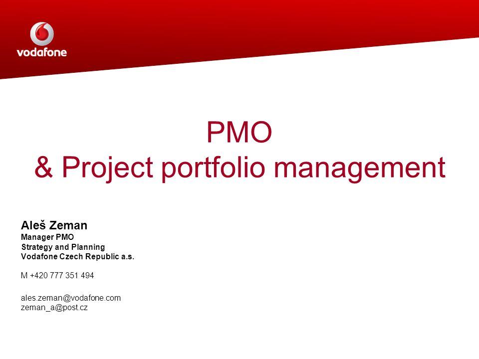 PMO & Project portfolio management