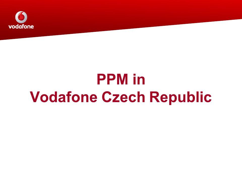 PPM in Vodafone Czech Republic