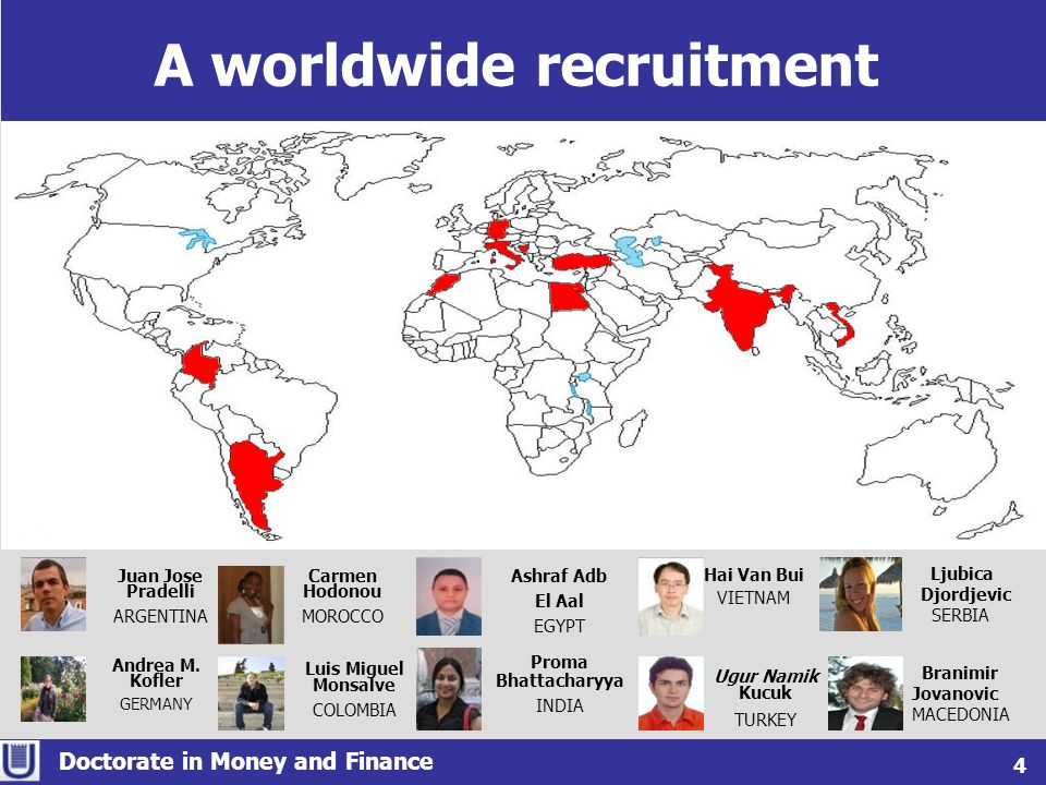 A worldwide recruitment