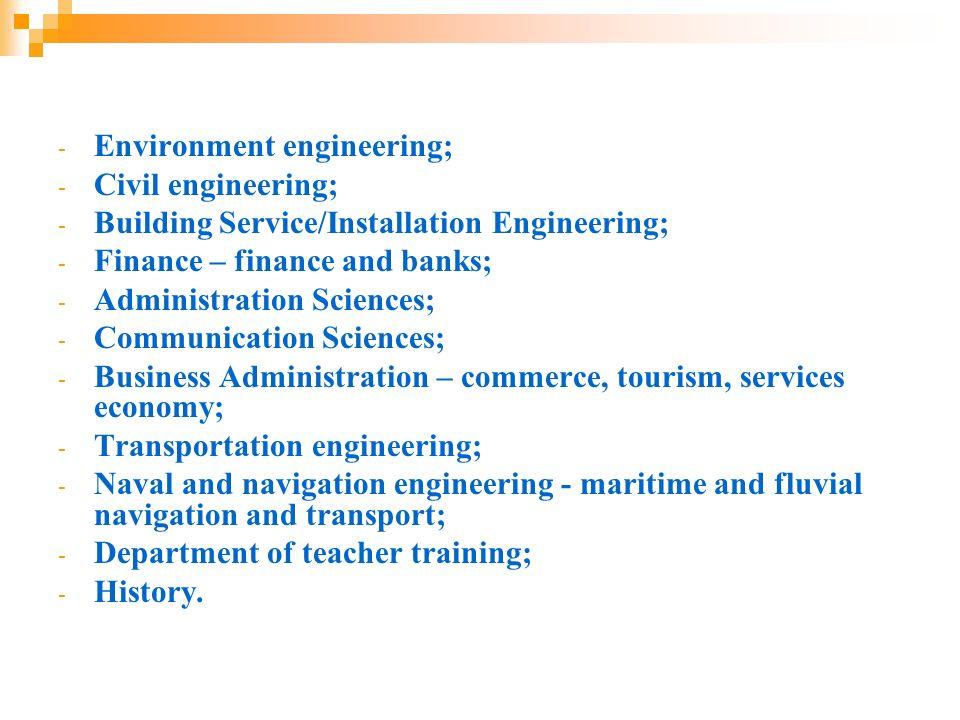 Environment engineering;