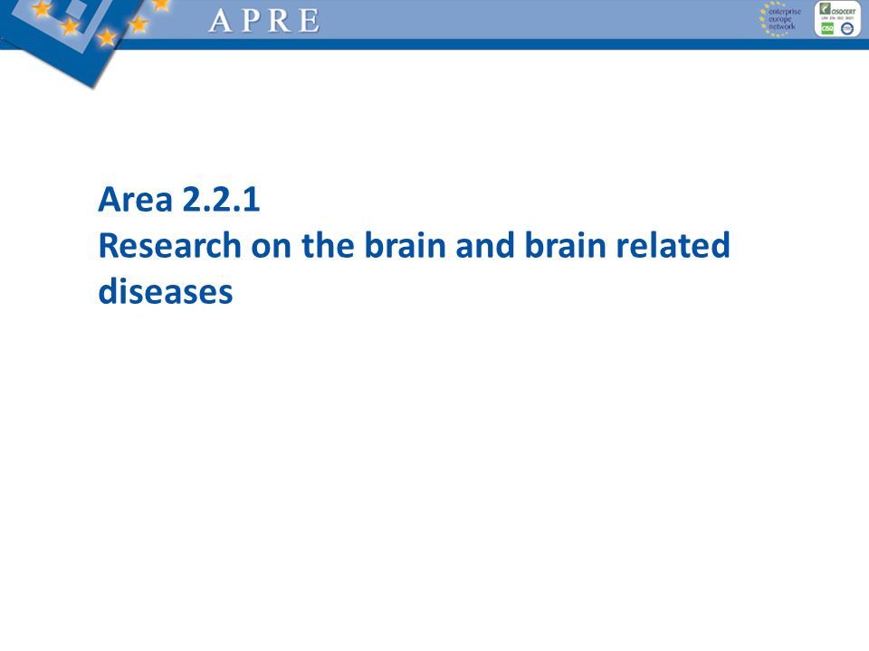 Research on the brain and brain related diseases