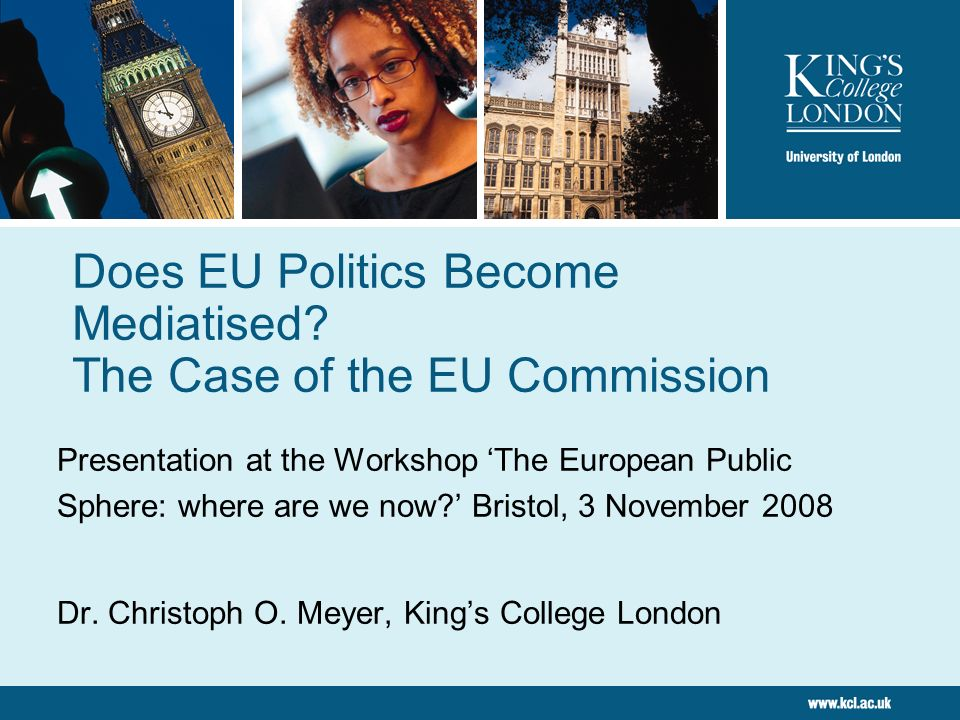 Does EU Politics Become Mediatised The Case of the EU Commission