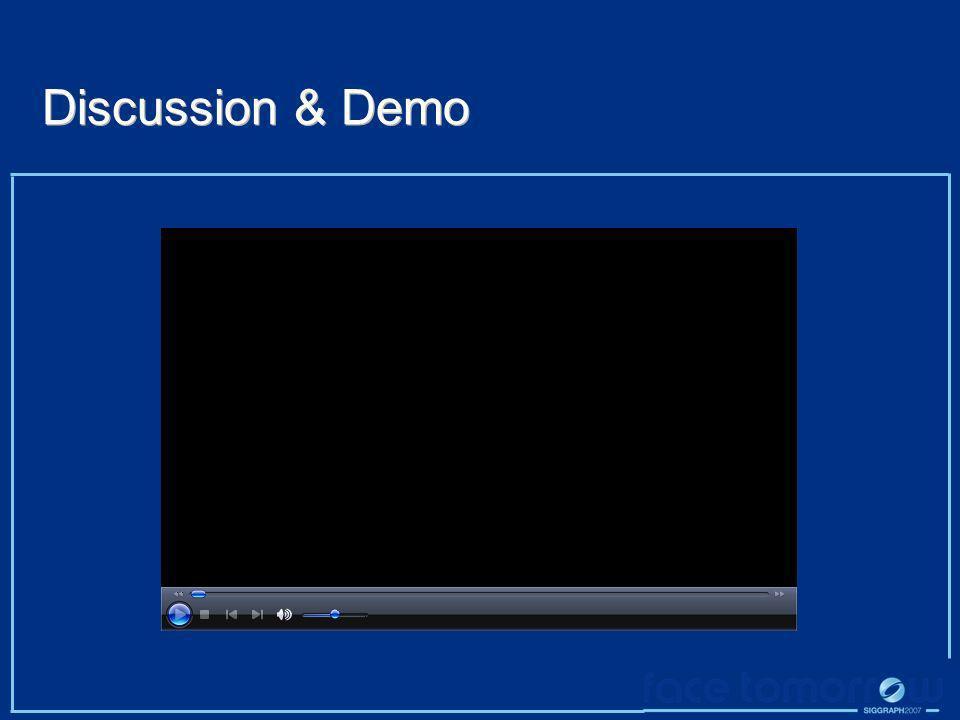 Discussion & Demo