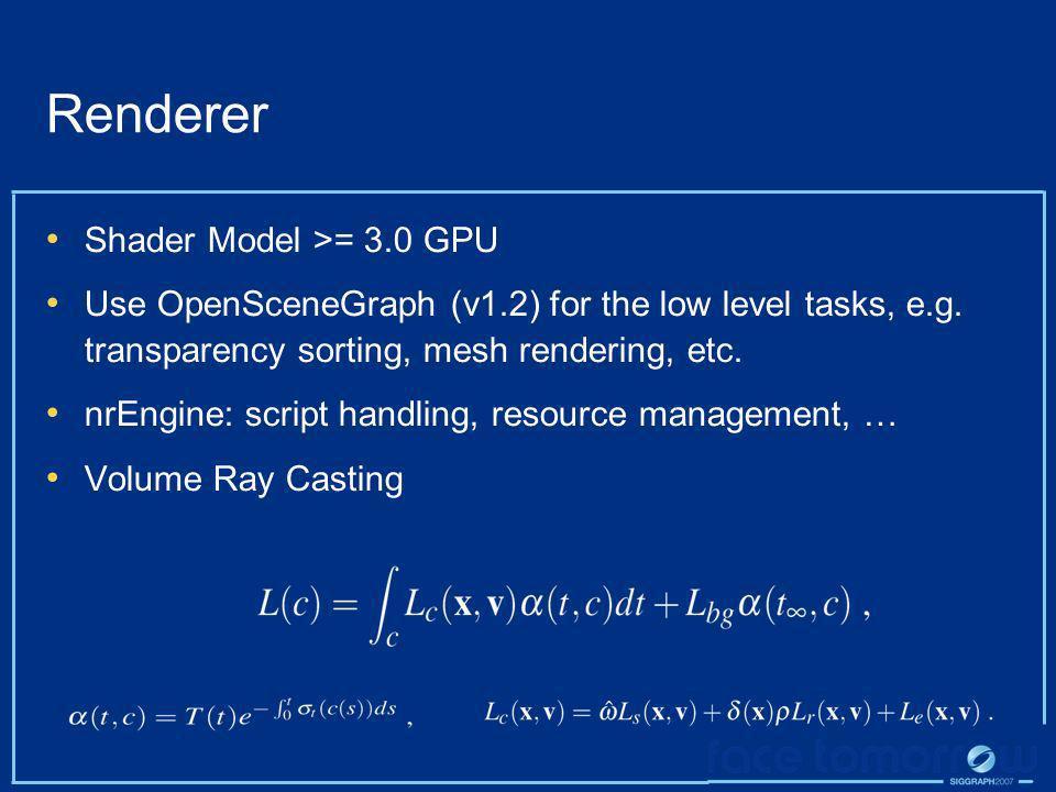 Renderer Shader Model >= 3.0 GPU