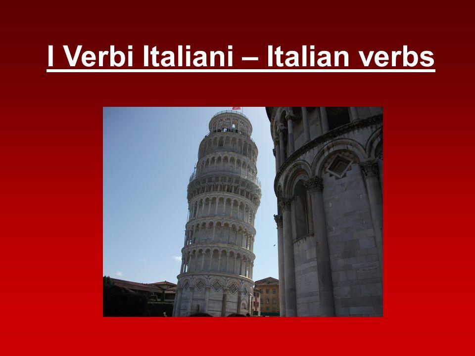 I Verbi Italiani – Italian verbs
