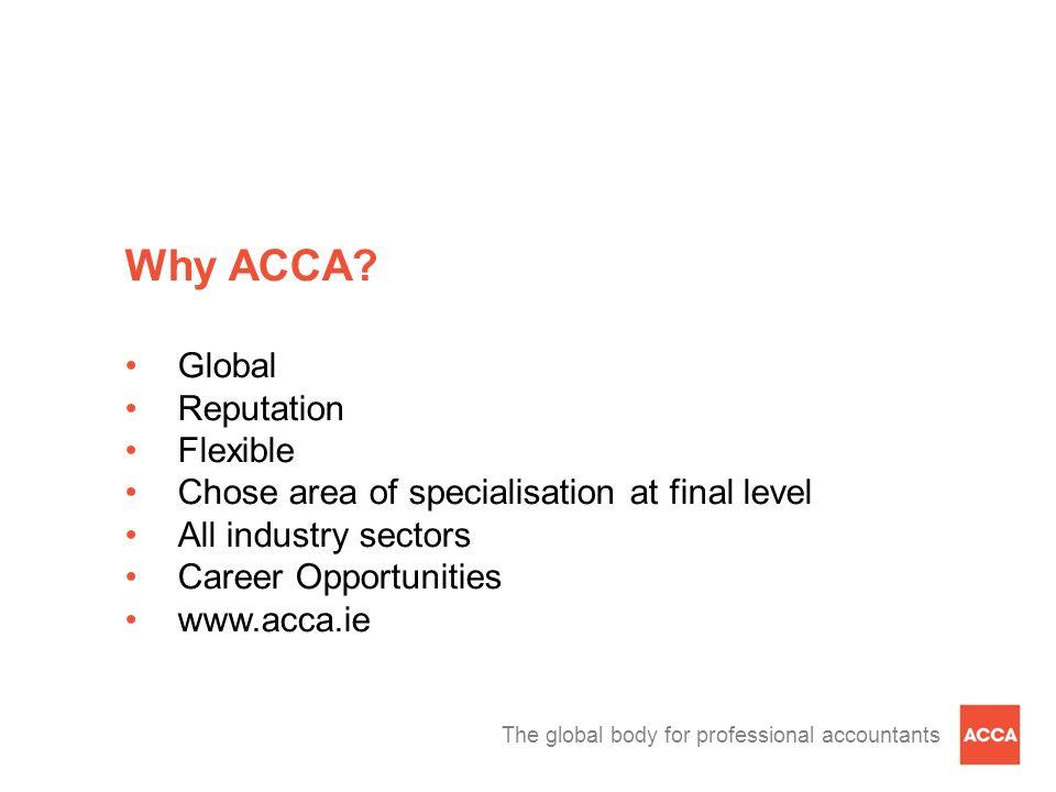 Why ACCA Global Reputation Flexible