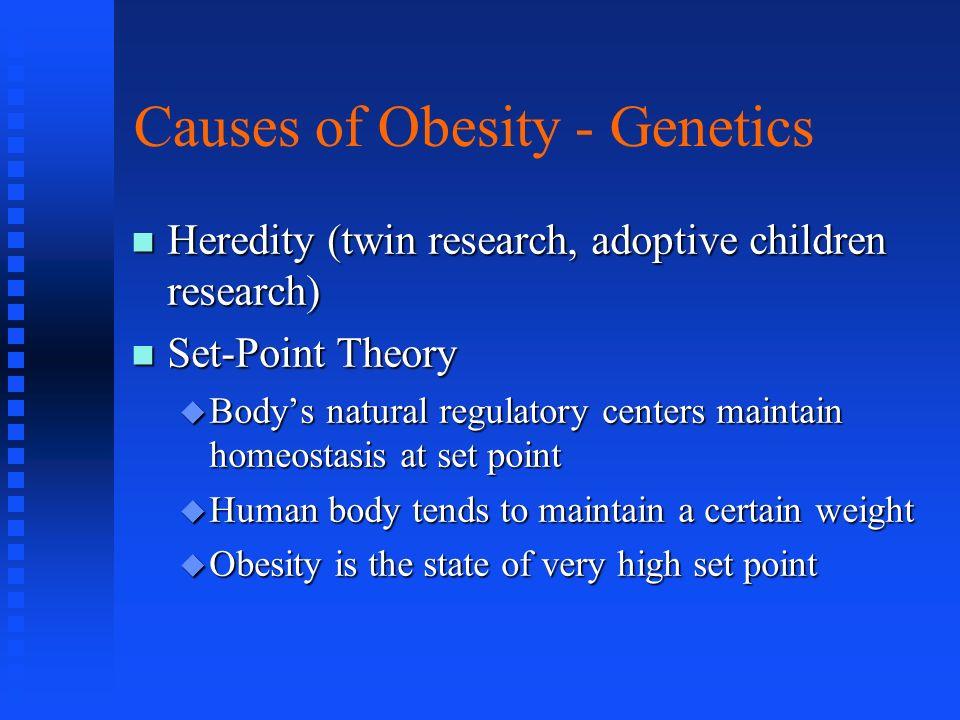 Causes of Obesity - Genetics