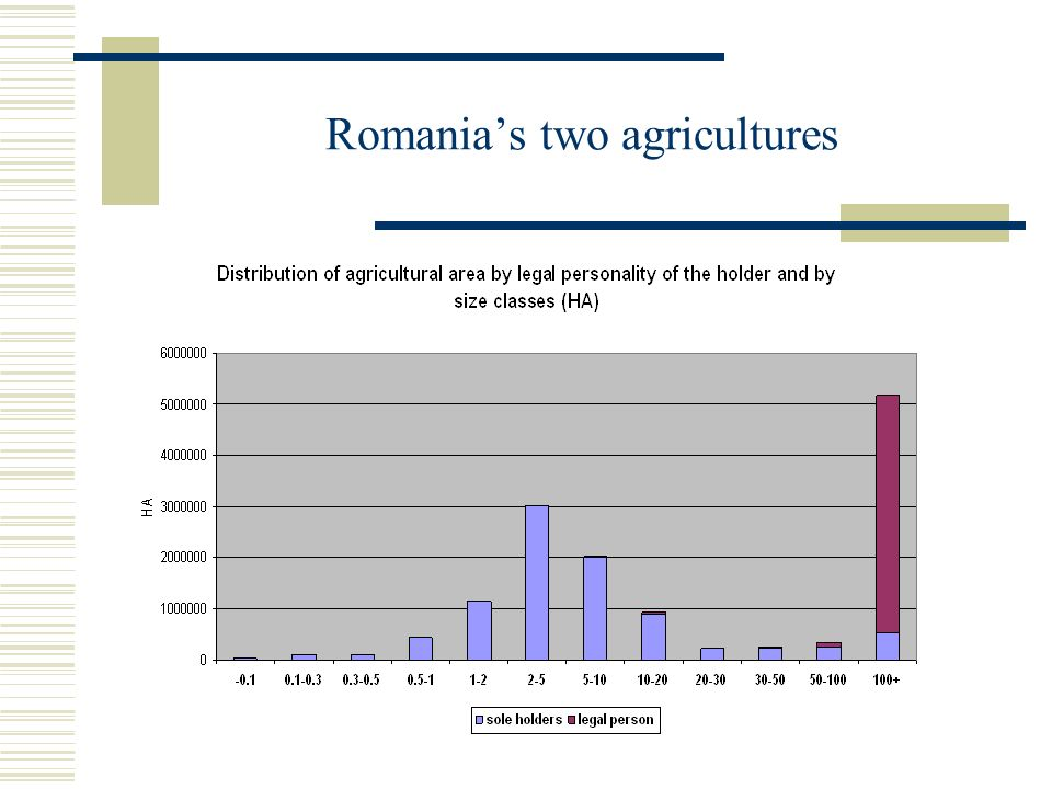 Romania's two agricultures