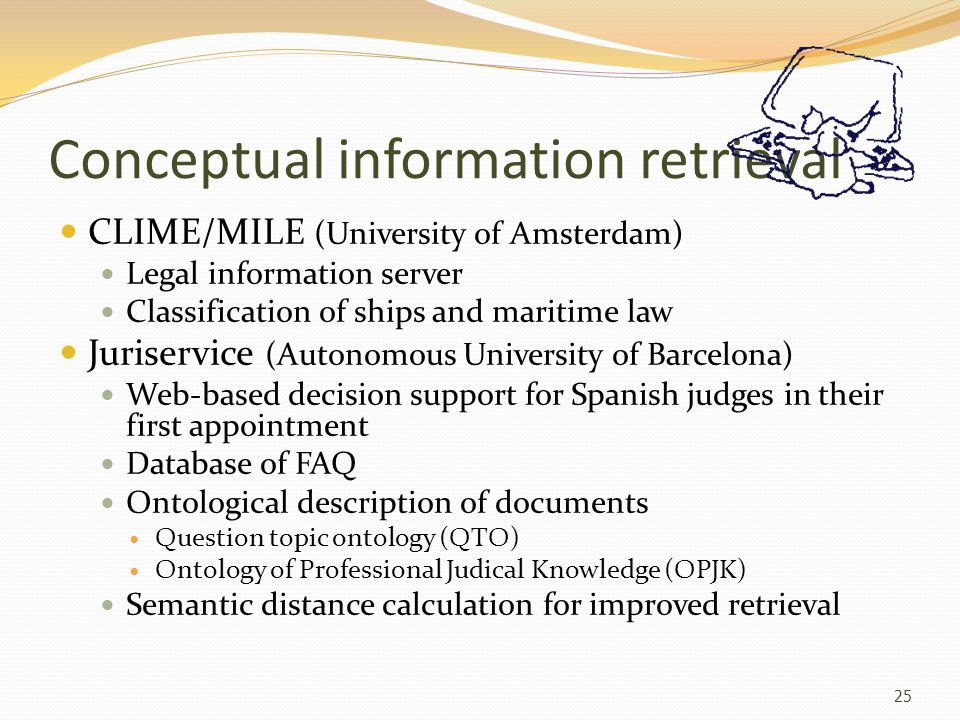 Conceptual information retrieval