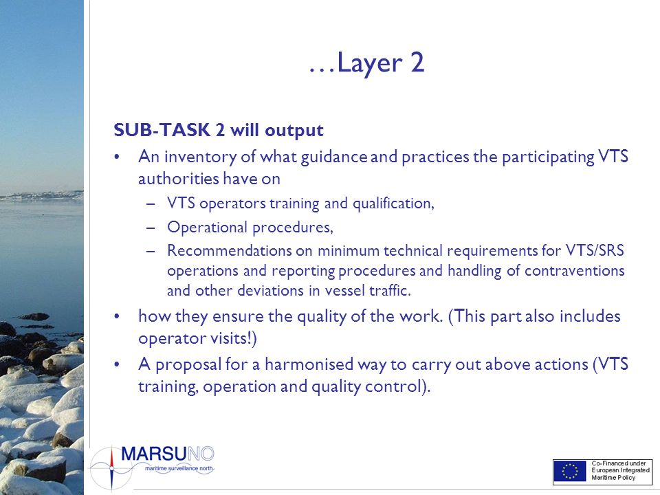 …Layer 2 SUB-TASK 2 will output