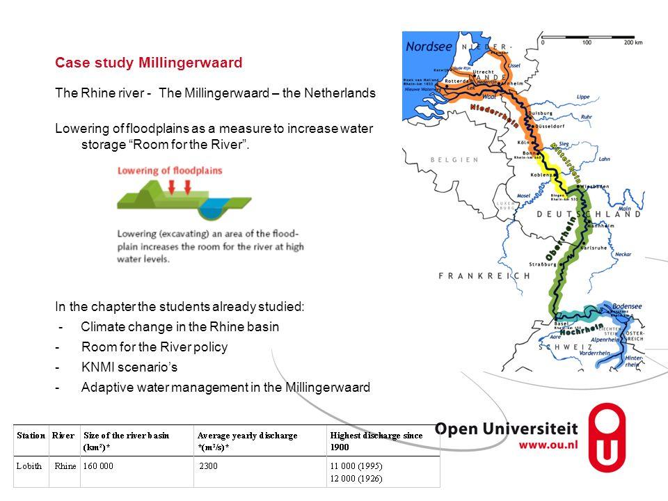 Case study Millingerwaard