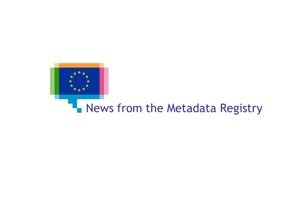 News from the Metadata Registry