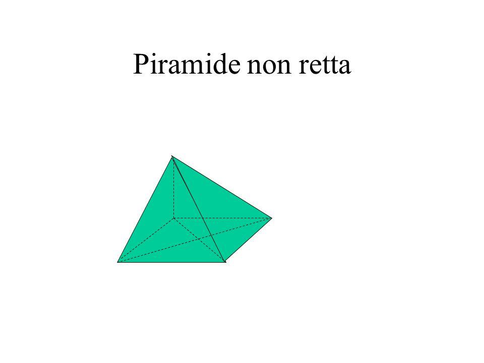 Piramide non retta