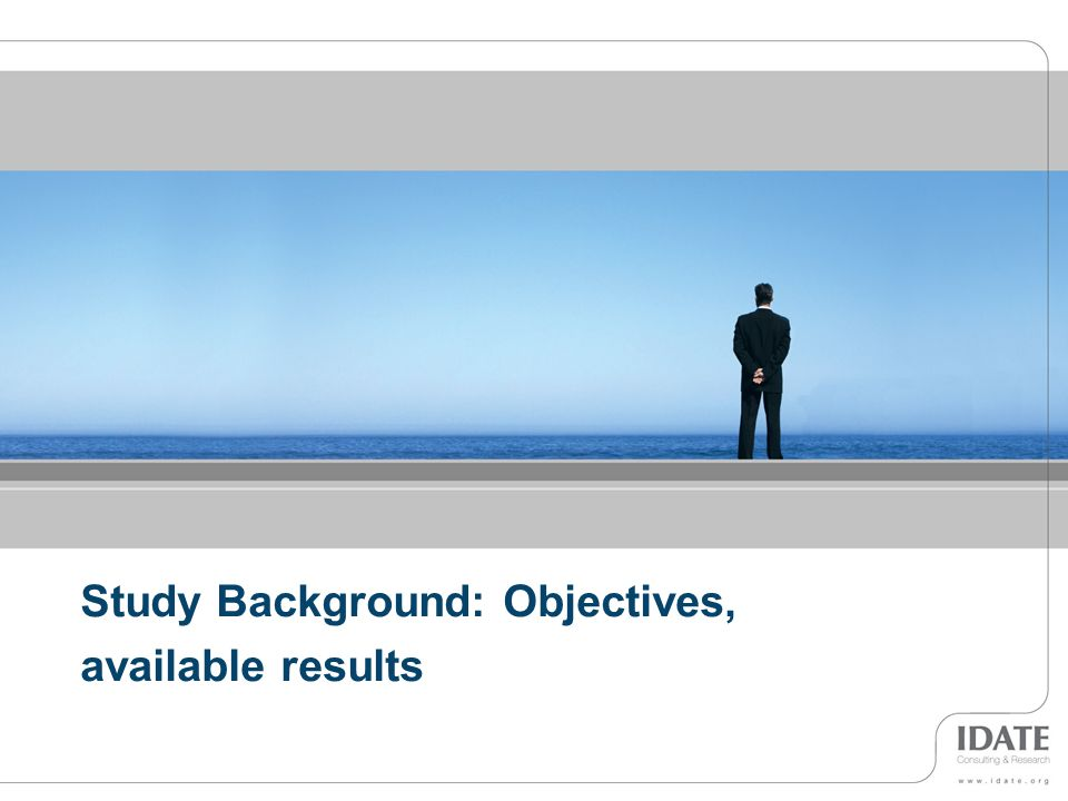 Study Background: Objectives,