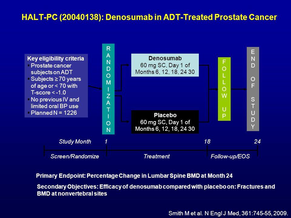 HALT-PC (20040138): Denosumab in ADT-Treated Prostate Cancer