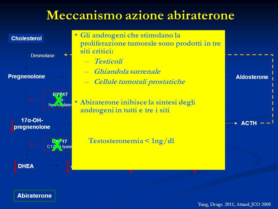Meccanismo azione abiraterone