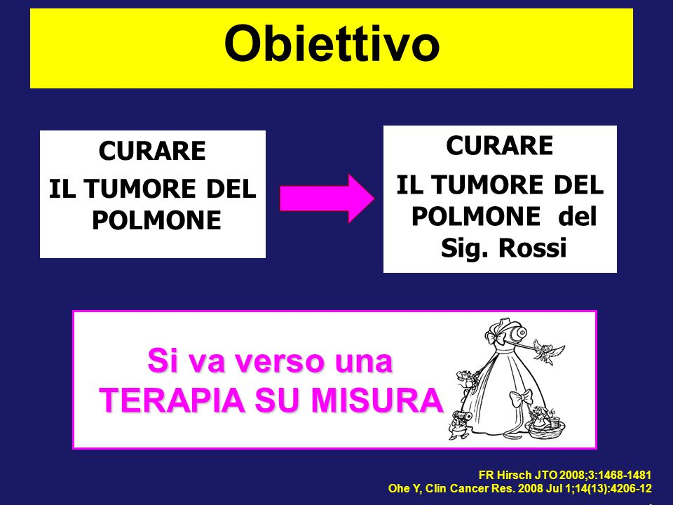 IL TUMORE DEL POLMONE del Sig. Rossi