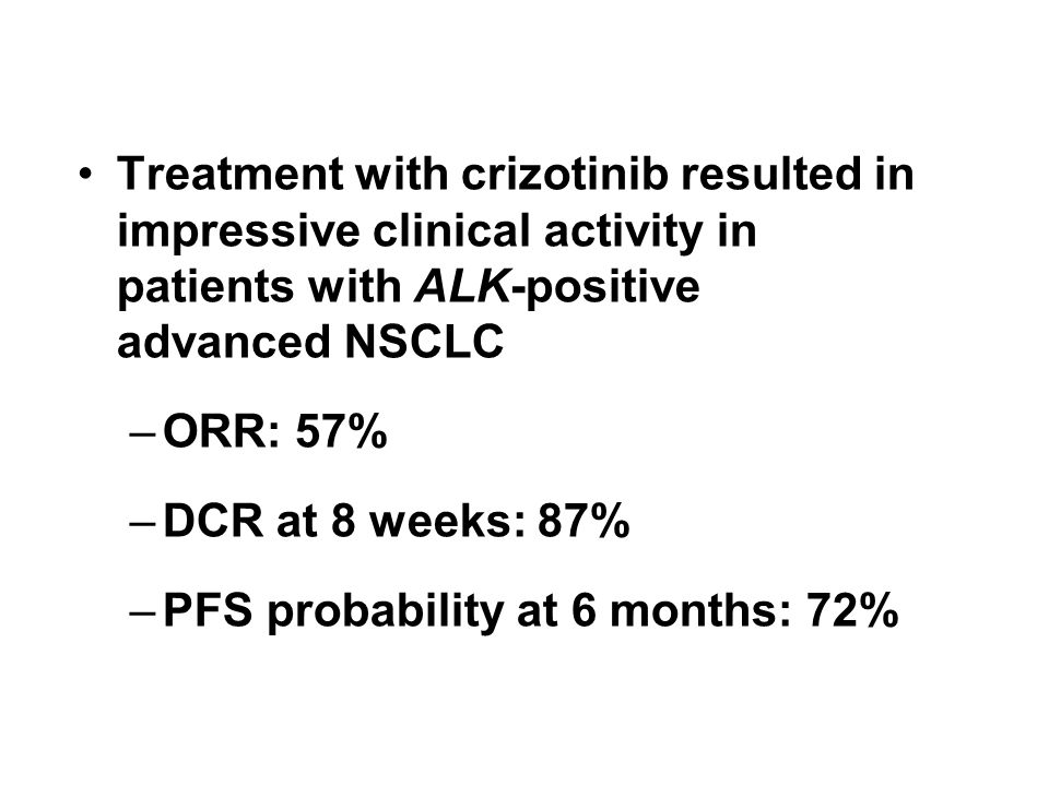 PFS probability at 6 months: 72%