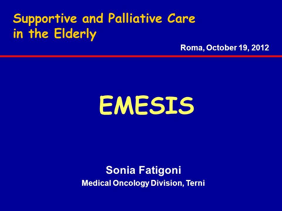 Medical Oncology Division, Terni