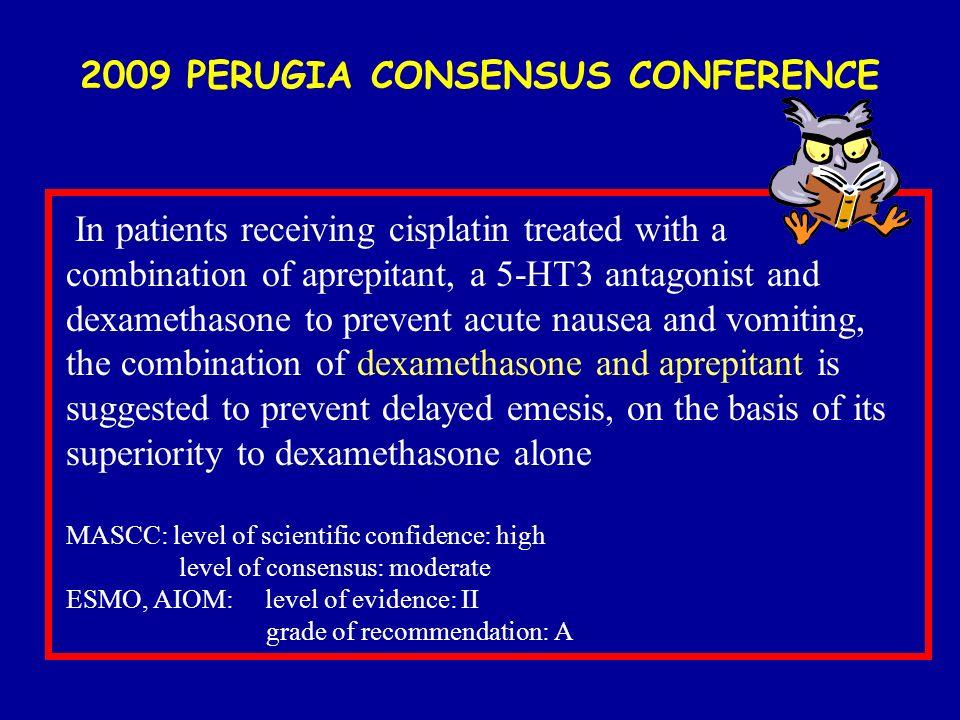 2009 PERUGIA CONSENSUS CONFERENCE