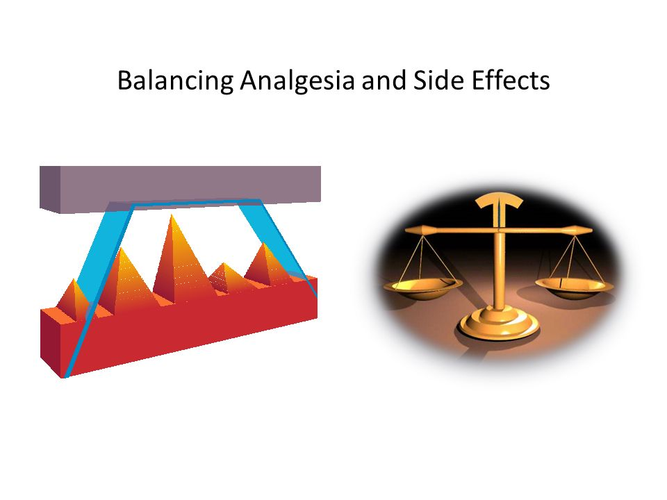 Balancing Analgesia and Side Effects