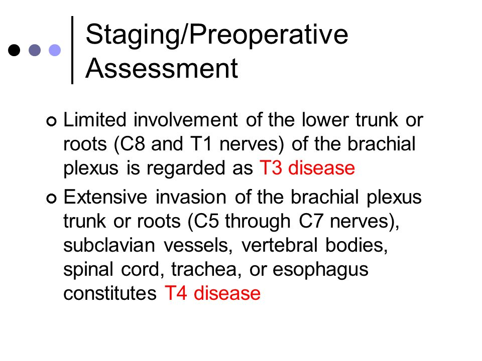 Staging/Preoperative Assessment