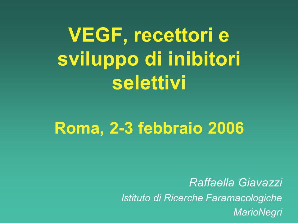 Raffaella Giavazzi Istituto di Ricerche Faramacologiche MarioNegri