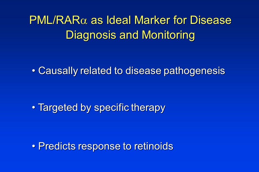 PML/RARa as Ideal Marker for Disease Diagnosis and Monitoring